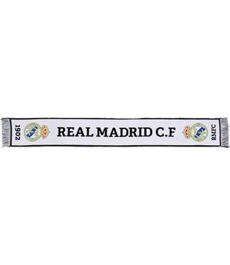Real Madrid Bufanda White Scarf - sjaal 140x20cm