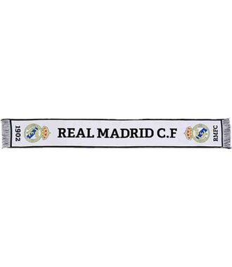 * Real Madrid White Scarf