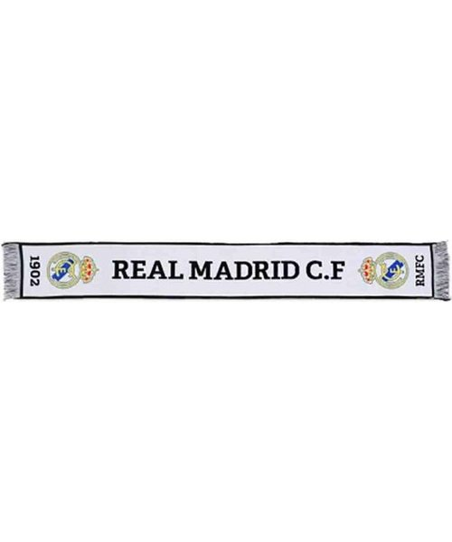 Real Madrid Real Madrid Bufanda White Scarf - sjaal 140x20cm