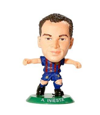 SoccerStarz  FC Barcelona -  Andres Iniesta  5cm