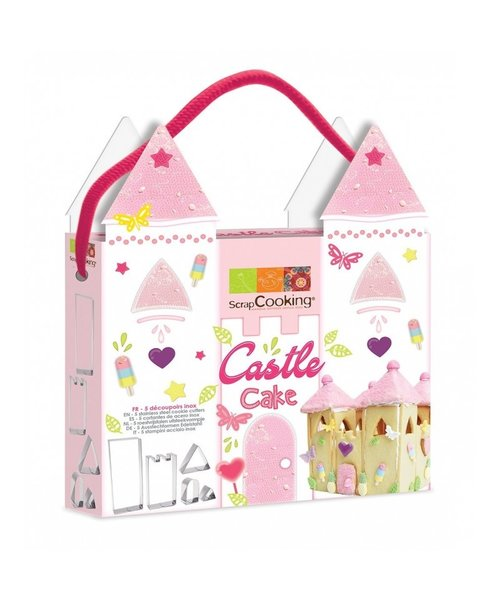 Overige merken Scrapcooking - Castle Cake - steekvormen