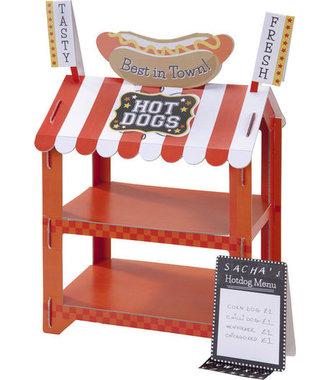 Talking Tables - Hot Dog of Popcorn Stand voor dessert tafel - cupcake standaard - feesttafel decoratie