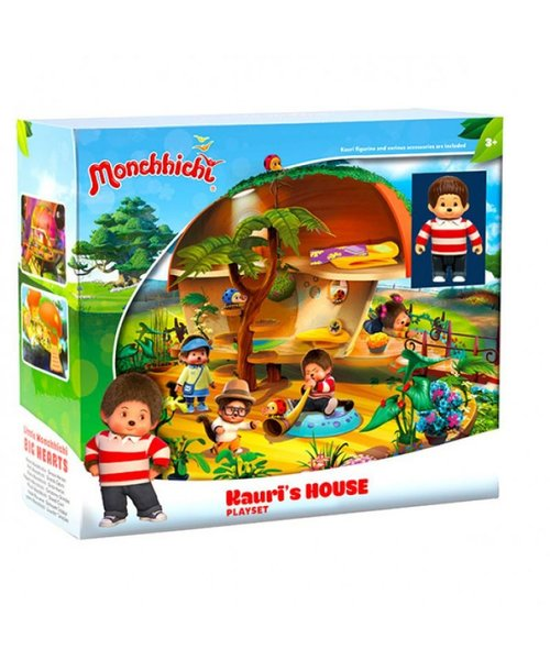 Monchhichi Monchhichi Kauri's house - speelset