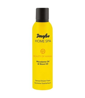 Douglas Home spa Beauty of Hawaii -  Macadamia Oil & Monoi Oil - Sensual Shower foam 200 ml