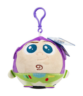 Toy Story 4 Buzz Lightyear Pluche clip-on Squeezy 12cm - sleutelhanger knuffel