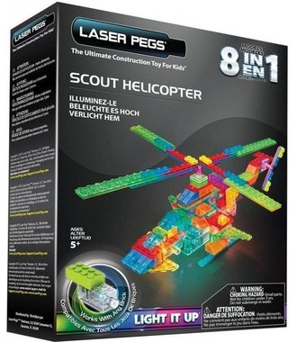 Laser Pegs Scout helikopter 8 in 1
