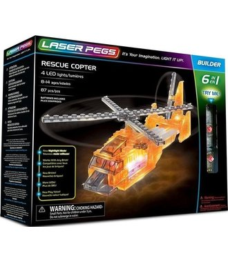 Helicopter Laser Pegs 6 in 1