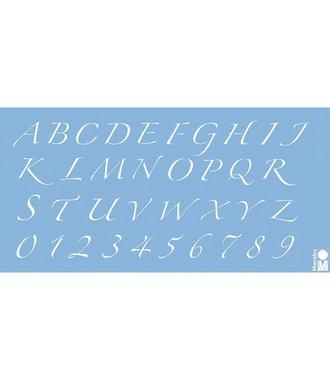 Marabu Sjabloon Alfabet en Nummers 15 x 10 cm