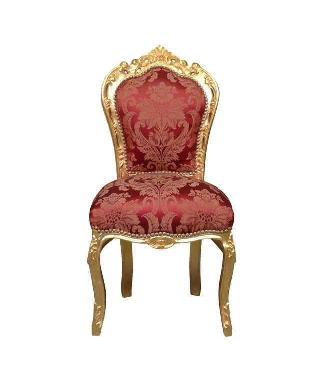 LC Chaise de salle à manger baroque