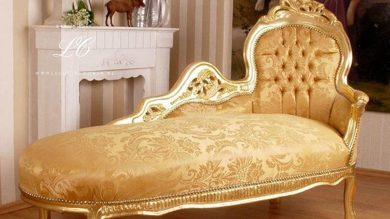 LC Barok chaise lounge exclusive