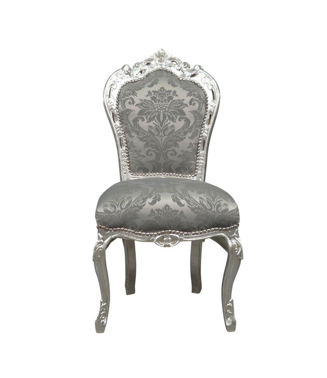 LC Dining room chair silver gray