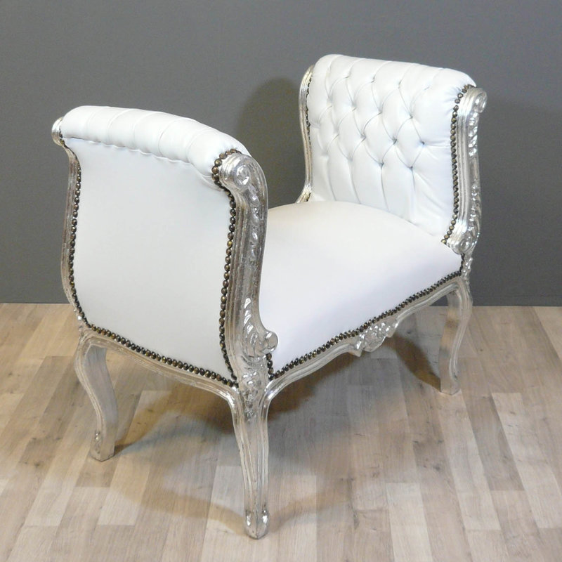 LC Bench Cleo silver white sky