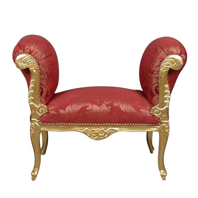 Royal Decoration   Banc Cleo Or Rouge