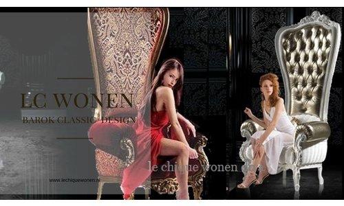 Baroque throne diva