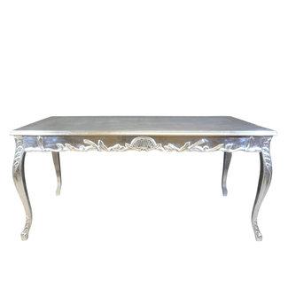 LC Table baroque en argent