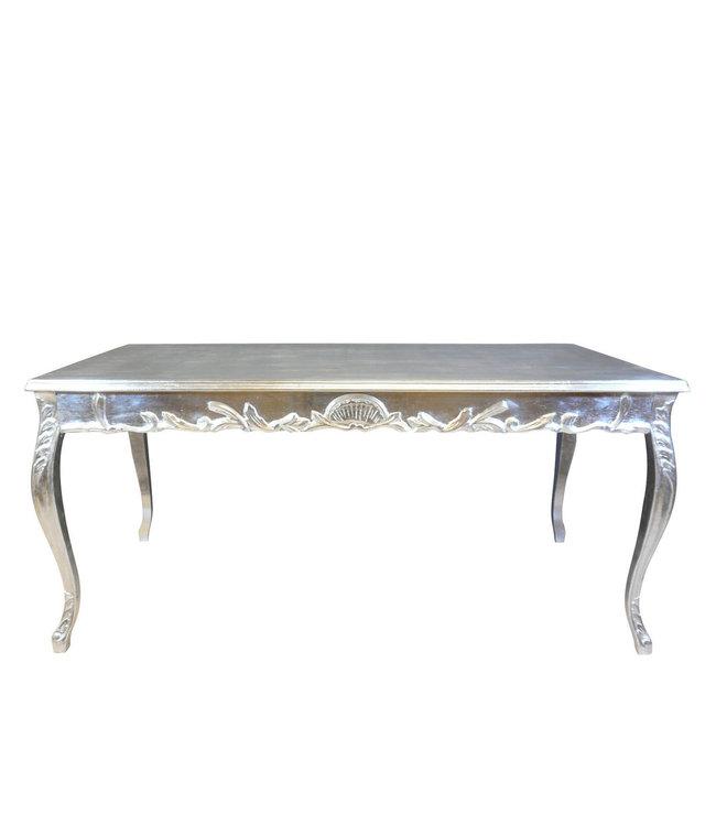 LC Zilveren barok tafel