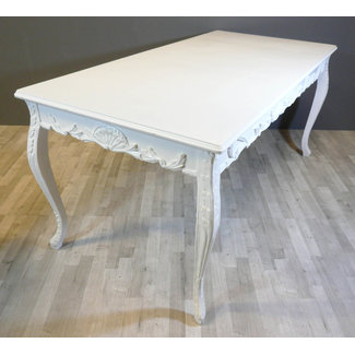 LC White   baroque table
