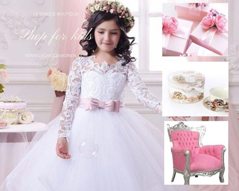LC Children's throne diva silver pink