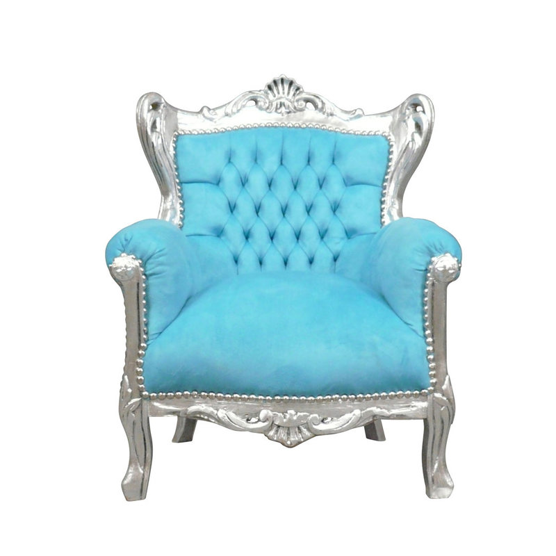 LC Children's throne diva silver bleu