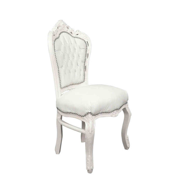 Royal Decoration   Dining room chair  white sky