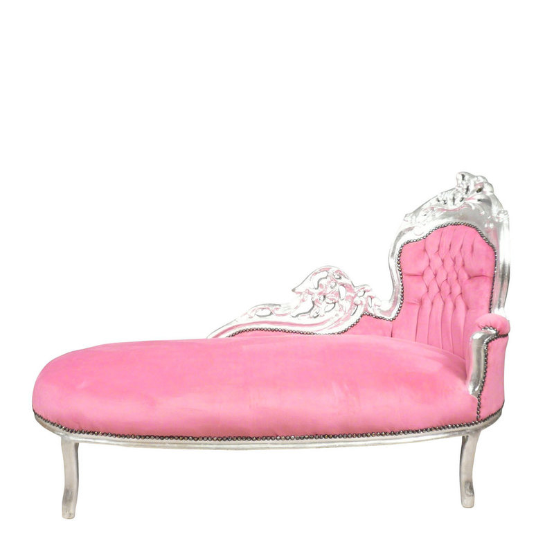 Royal Decoration   Baroque chaise lounge in modern style