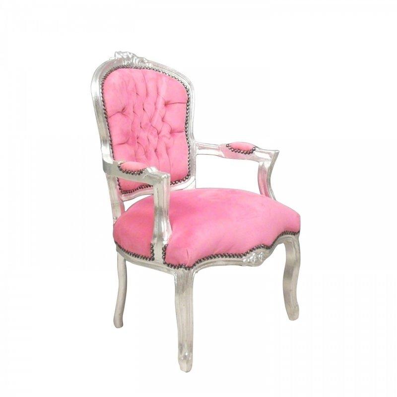 LC Barok  stoeltje  lady roze modern