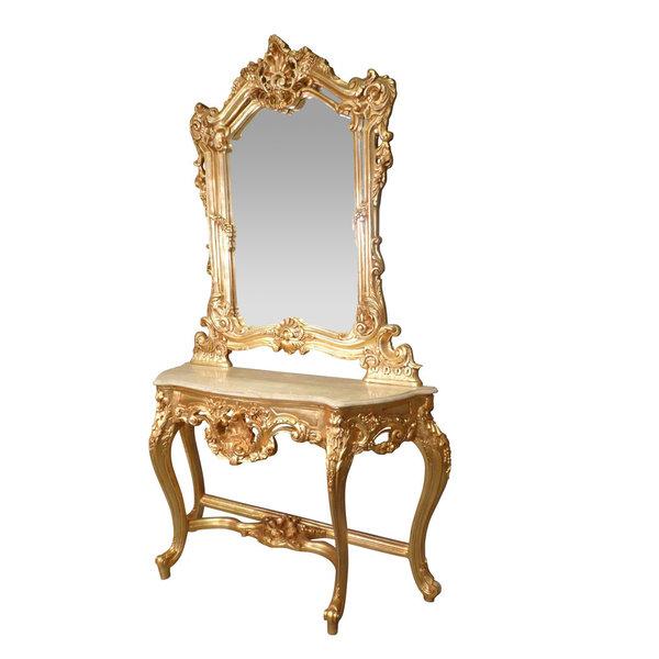 LC Coiffeuse baroque dame Napoli