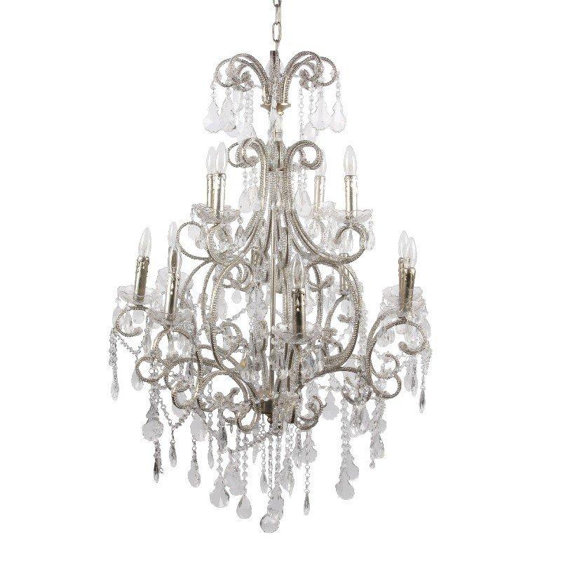 Dutch & Style Chandelier 96 cm 12 lampen