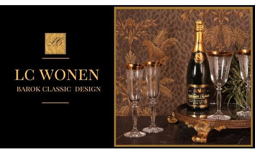 Dutch & Style  Gedecoreerd drinkglas