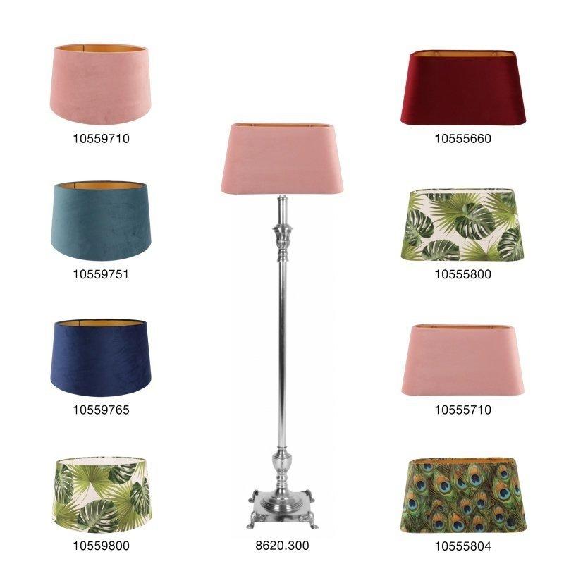 Dutch & Style Lamp base 87 cm zilver