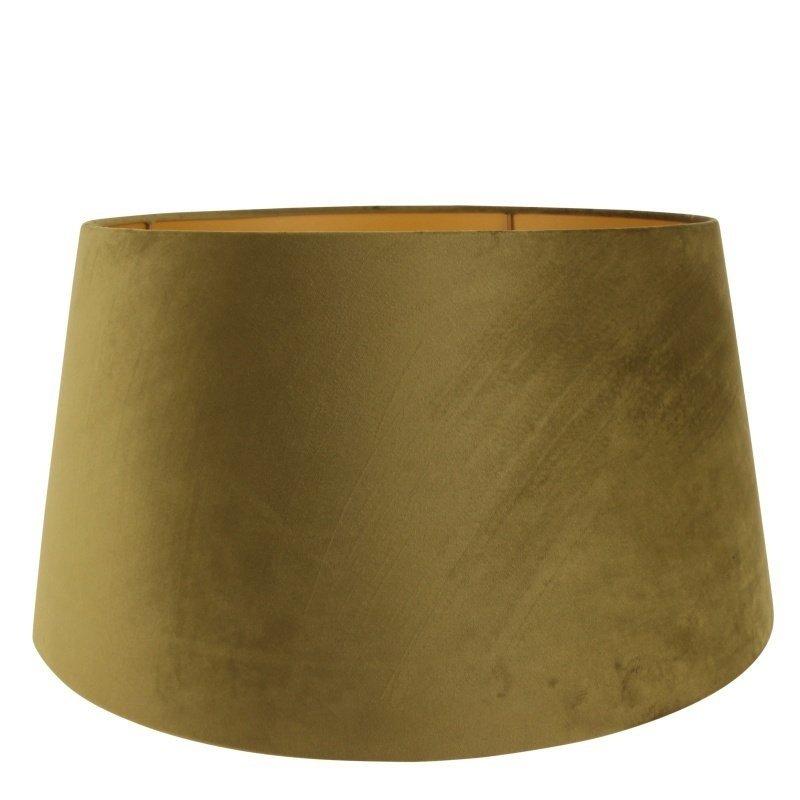 Dutch & Style Lampshade around 50 cm green velvet