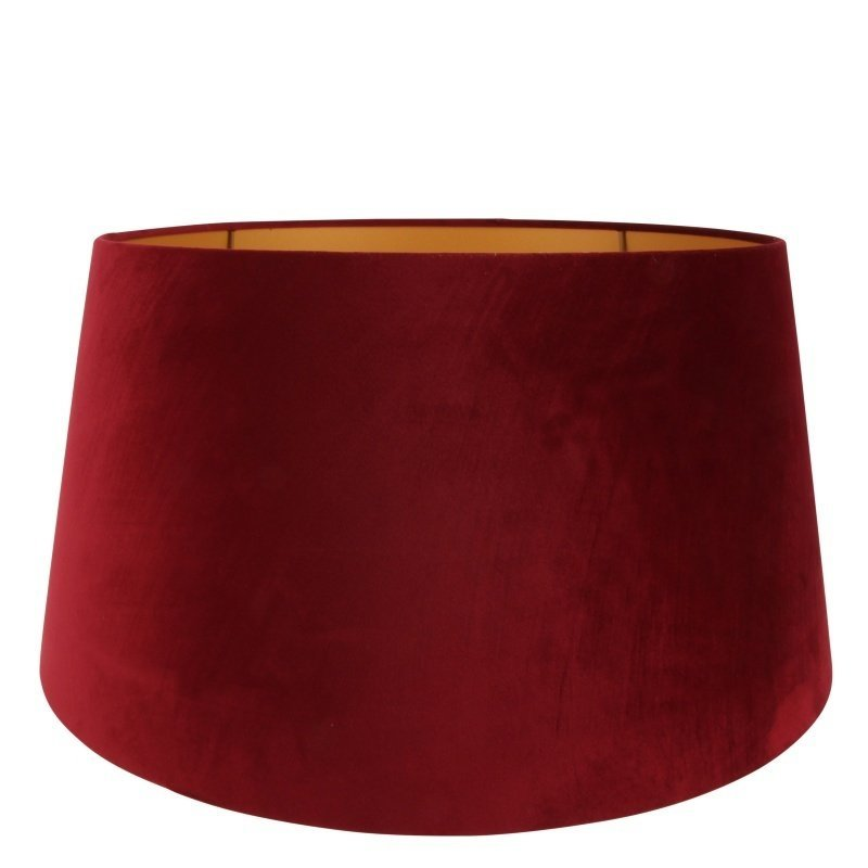 Dutch & Style Lampshade around 50 cm red velvet