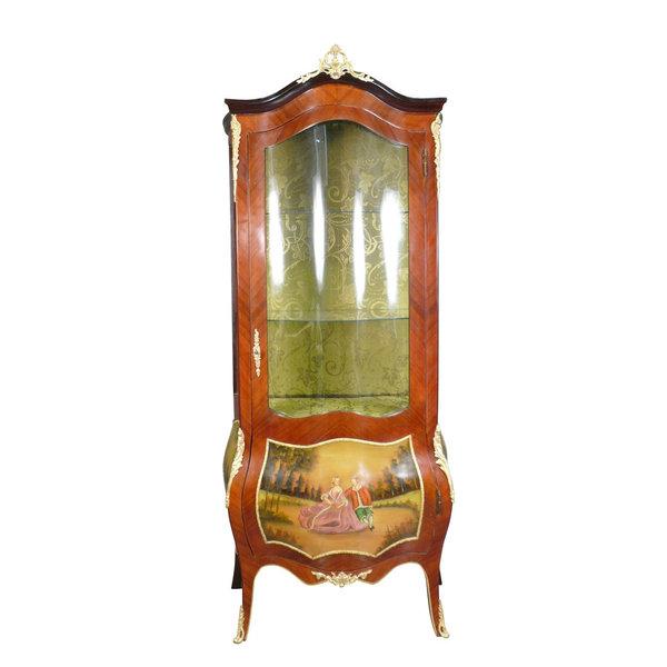 Royal Decoration   Barok vitrine kast
