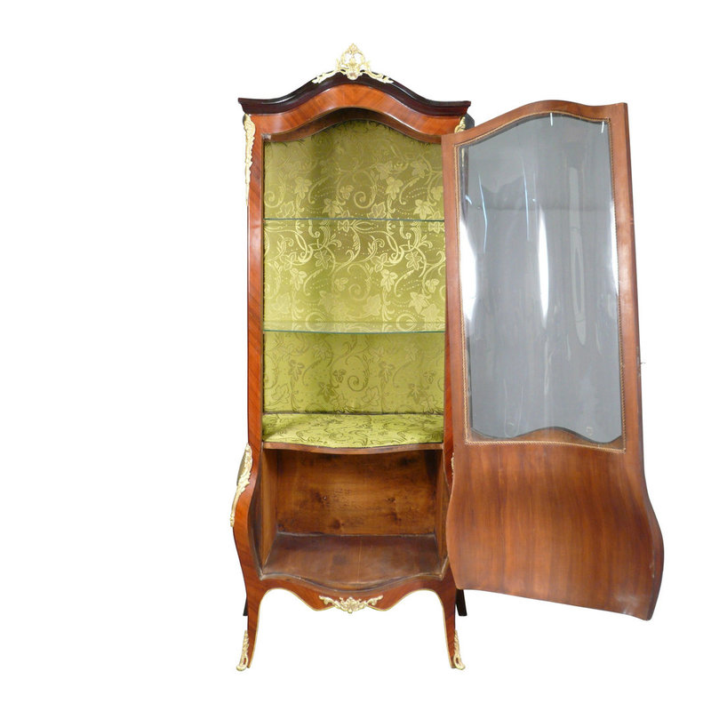 Royal Decoration   Barok vitrine kast Louis XV