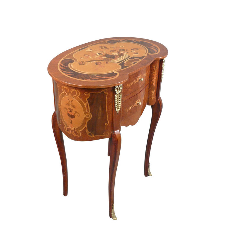 LC Louis XV bedside table