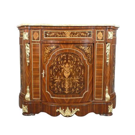 LC Louis XVI Buffet Marbre