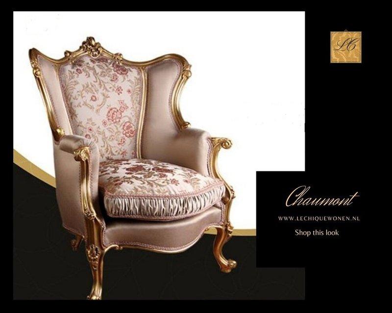 Wafaa Okka  Baroque Chaumont Armchair