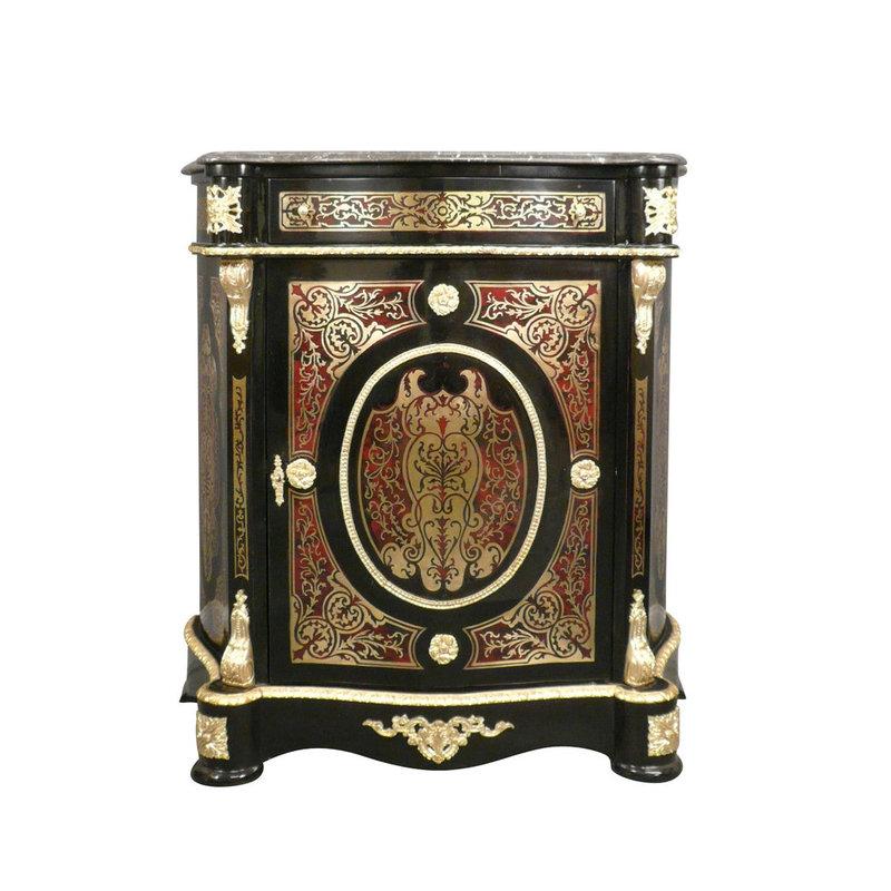 LC Napoleon  dressoir in Boulle-stijl