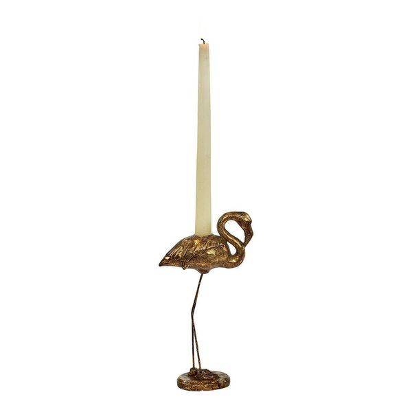 Good Will  Candlestick Flamingo