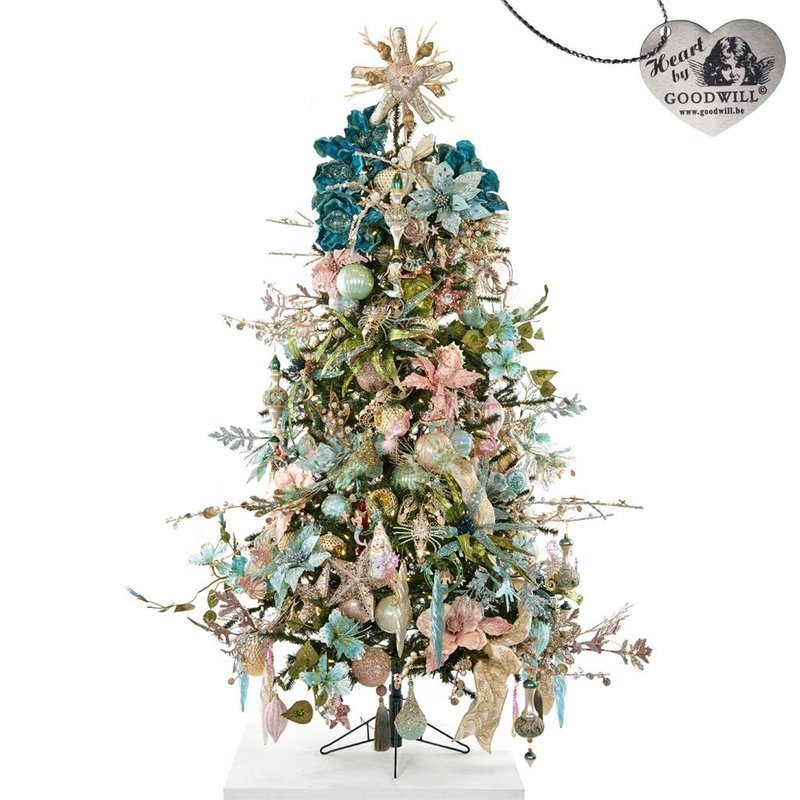 Good Will  DECORATED FULL TREE KC -TREASURES OF THE SEA 180CM