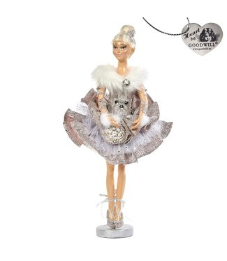 Good Will  WINTER BALLERINA DOLL