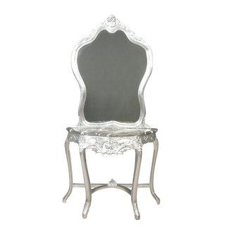 LC Barok kaptafel zilver