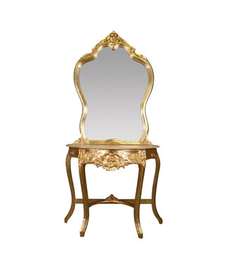 LC Baroque dressing table Gold