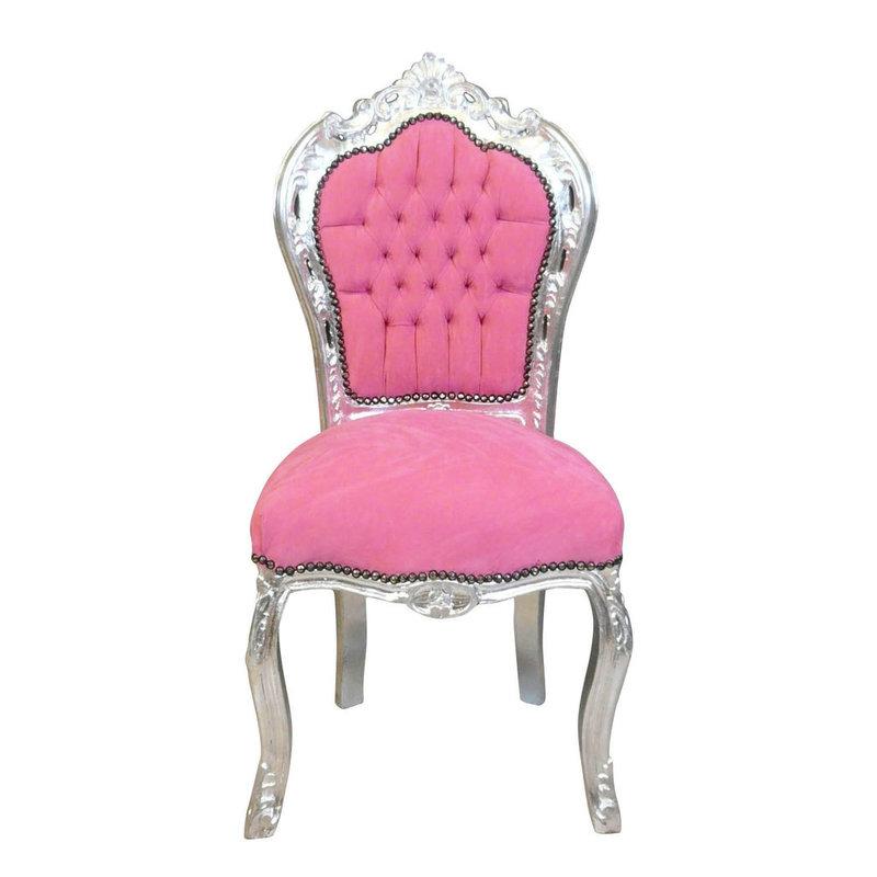 LC Barok eetkamer stoel Lady Pink