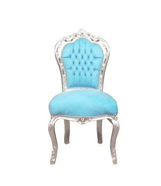 LC Dining room chair aqua blue,