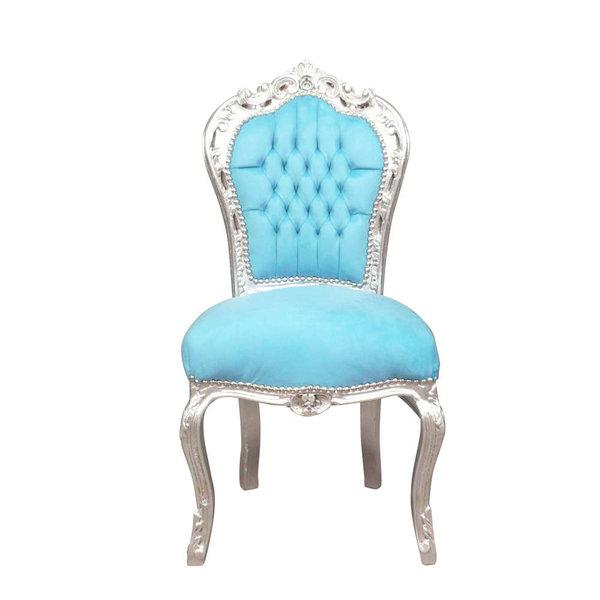 LC Chaise de salle à manger bleu aqua,