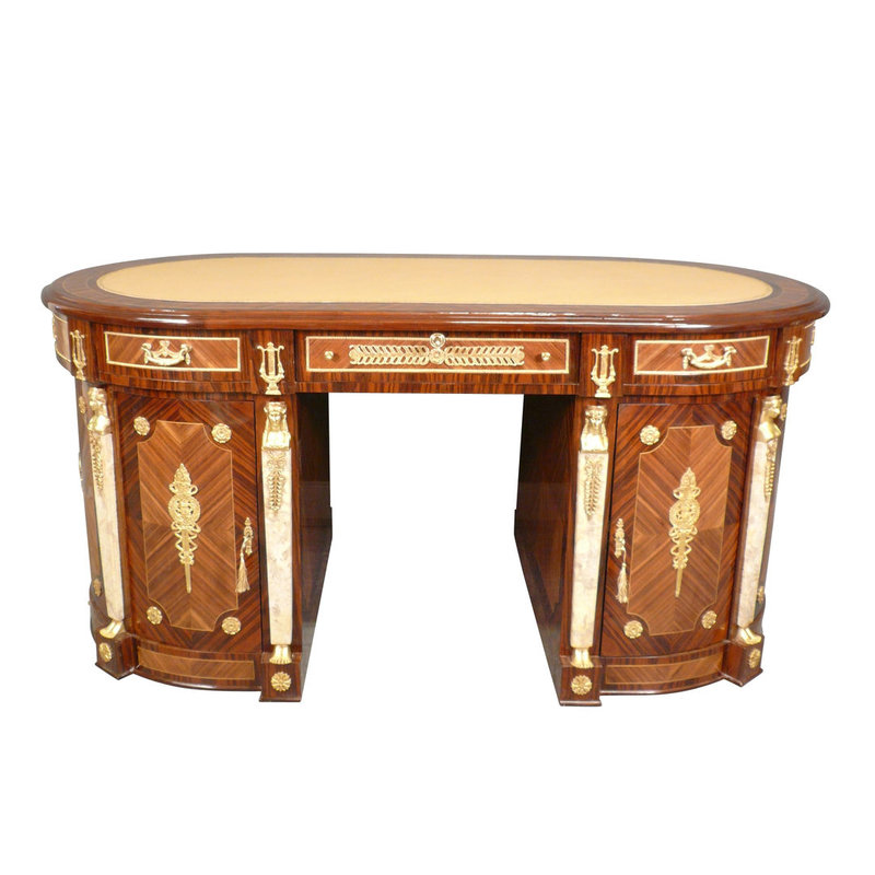 LC Empire desk in rosewood