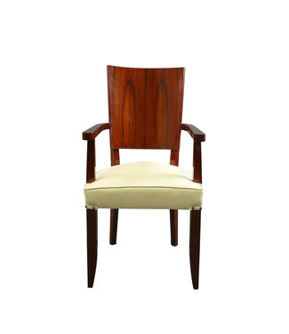 LC Art Deco armchair in rosewood