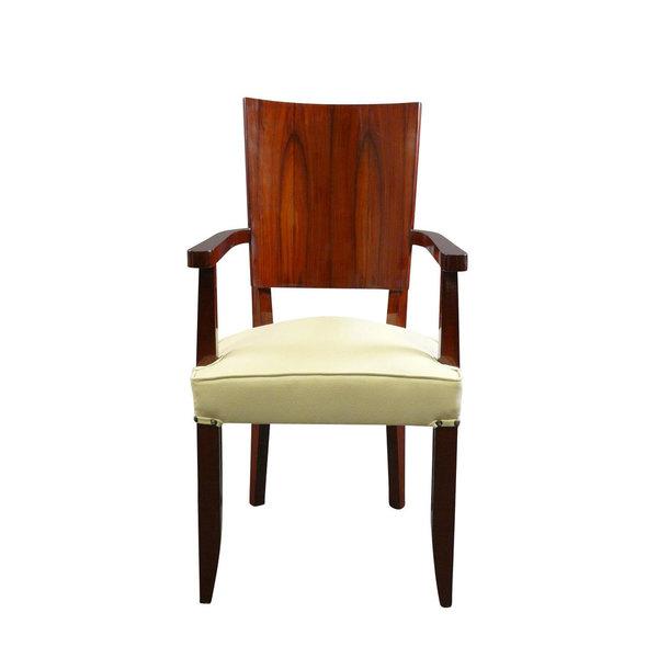 LC Art Deco armchair in rosewood