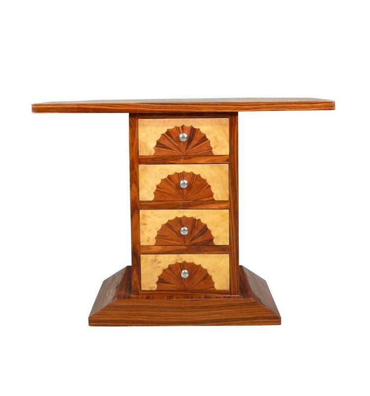 LC ART DECO CONSOLE WITH 4 DRAWERS